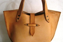 bags / love leather bags / by Liliya Zarevenna