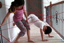 BinnenSpelen / #Spelen #Spelletjes #Kinderen #Speelgoed #Home #DIY / by Mazzelshop