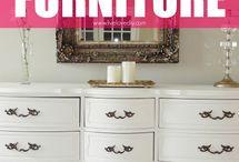 DIY furniture / by Sherri Clifton