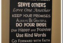 Words of wisdom / by Carrie Dziabczenko