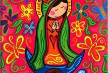 Virgencitas - Religion / by Betty Soto-Soria
