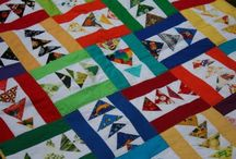 baby quilt inspiration / by Joanne Kerton