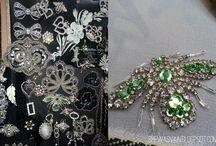 Embroidery / by Melanie Talkington/ Lace Embrace Atelier