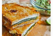 Grilled Cheeses!! / by Amy Aspiras
