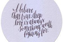 Calligraphy / by Emma Raposo