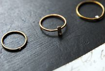 Delicate / Little gems, bands, post and rings to layer and stack. / by Anthem Wares
