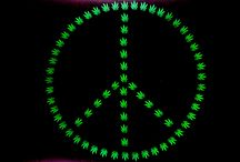 Love, Peace, and ... / Love, peace and cannabis would make for a much nicer world. / by Sheila Mercado