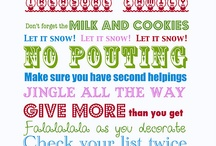christmas printable / by Julie Imhoff