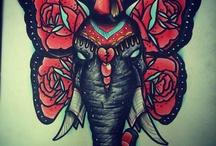 Tattoos / by Kimi Treat