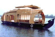 wooden houseboats / by Dan