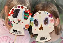 Día de los Muertos - Mpressarias / Inspiration for Language Immersion Camp entrepreneurs - if you want to teach foreign languages to young children all you have to do is engage their imagination! www.analomba.com / by Ana Lomba Early Languages LLC