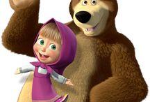 Masha and the bear da C / by Elisabete Morgado