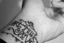 Tattoos / I am always planning :) / by Katie Klimuszko