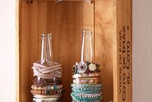 cool upcycling ideas / by Mary Andress
