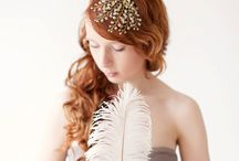Bridal headpiece / by Anita Vidal