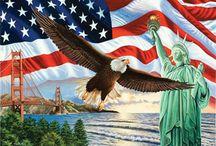 Symbols of America / Picture of American symbols / by Barbara H.