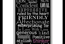 Zodiac Sign: LEO / by Desirae Lozier