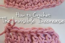 Crafts - Crochet Tips / Tips and tricks to make crocheting easier  / by Efelants Woozles