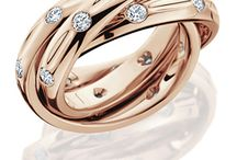 Pink Gold Jewelry - Hot Trend / Jewelers like pink or rose gold for its color and versatility. / by Amoro Jewelry