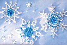 Beaded Snowflakes / by Beebe Anderson Nadolskey