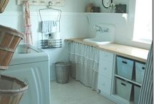 laundry room inspiration / by Christi @ Burlap and Basil