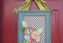 door decoration / by Zee Raska