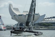 Emirates Team New Zealand / Technical Clothing Sponsor to the ETNZ's Extreme Sailing Series 2014 / by Gill