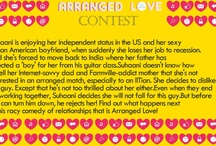 #ArrangedLove Contest / How to participate: 1. Create a Board named #ArrangedLove 2. Read the synopsis of the novel #ArrangedLove by Parul Mittal in the image below and pin this image on to your board 3.Now give us the cover page for the synopsis above by pining a picture that you think would best suit the novel as a cover. You can pin as many images as you like. 4. Send us the link of your board at fashionandyoucontest@gmail.com The contest lasts till 12PM, 25th January, 2013. Contest only for Indian residents. / by 20 Fresh New Sales Everyday!