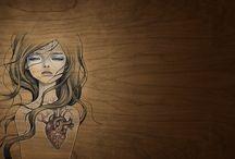 Desenhos / by Vanessa Negrello Raitz