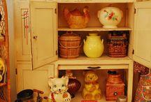 cookie jars.... / by Crystal Shimmel