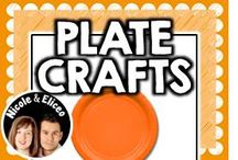 ♥ Plate Crafts ♥ / by Nicole and Eliceo