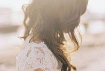 bridal hair inspiration / by Huilin Dai