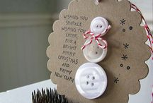 Homemade Christmas Ornaments  Ideas / by Jewell Wireman