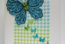 Brilliance Ink / This board features projects using Brilliance Ink!  Brilliance is a quick-drying pigment ink that dries naturally on vellum and most glossy cardstocks.  Most Brilliance ink colors are pearlescent for a beautiful finish.   Embossing is optional. Available in full-size inkpads, Dew Drops and Inkers.  / by Imagine Crafts