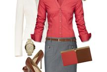 9-5 / Workplace outfits / by Stephanie Morin