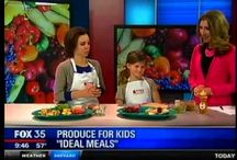 Produce for Kids on TV / Check out these TV clips from Produce for Kids! / by Produce for Kids