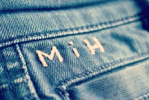 MiH Jeans Bespoke Hand Monogramming Service Launch / by MiH Jeans