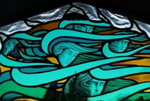 stained glass / by Cheli Sierra