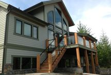 Lilliwaup, Washington Timber Frame / Project Type: Residential Completion Date: 2013 Builder: Johnson Brothers, Lilliwaup, WA Architect: MTN Design, Meridian, ID Project Manager - Dan Geis Designer - Matt Franklin www.mtndesign.com Dealer: PrecisionCraft Log and Timber Homes, Meridian, ID Windsor Products Used: Pinnacle Clad - double hung, single hung, awning, and direct set with alder wood interiors. / by Windsor Windows & Doors