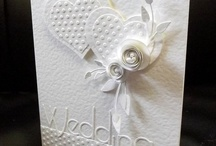 Wedding/romantic cards / cards for anniversaries weddings valentines etc. / by margaret cannon