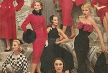 Vintage Fashion Poses / Vintage fashion inspiration for fashion shoots! / by Heather Gregg