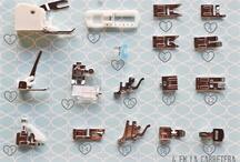 Accesorios maquina coser / by Fernanda Porres