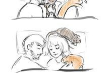 Meow - Cat Cartoons / by Rebecca