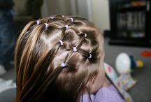 Girls' Hair Ideas / by Photina The Bookworm Lady
