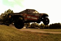 "Aerial Strike 1 - Losi Ten-T, HPI Apache Flux & Team Associated Sc8.2e Air Bashing / Watch ""Aerial Strike I"" featuring the Losi Ten-T, the HPI Apache Flux and the Team Associated Sc8.2e bashing through the air! Slow Motion Action and Crashes! Worth a look! / by Remote Addicted"