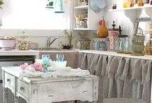 Cottage, and Shabby chic / by Lisa Dorman