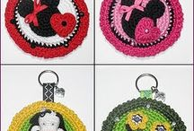 Crocheted Key Chains / by Aura Lipinski