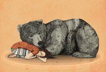 little she-bear / by Morgan Leann