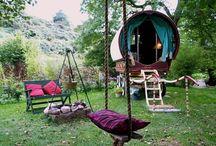 Gypsy Bohemia / Gypsy  Wagons * Caravans * Bohemia * Roulotte * Vardo / by Lisa ★ Berry