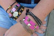 The DIY Crown Jewels-Bracelets (2) / diy bracelets / by Kenda Secoy